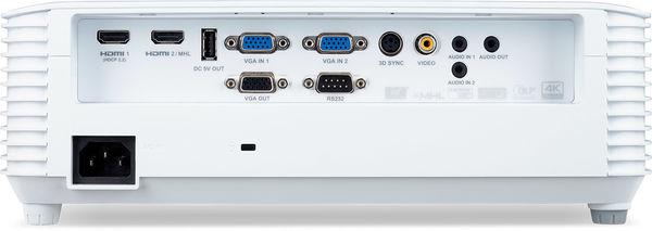 La connectique du vidéoprojecteur Acer HV532