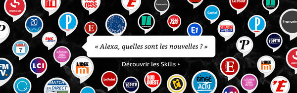 Amazon Echo Plus : les Skills