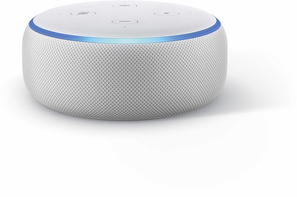 Amazon Echo Dot avec habillage tissu Anthracite