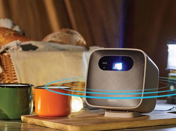 Benq GS2 : mode enceinte Bluetooth