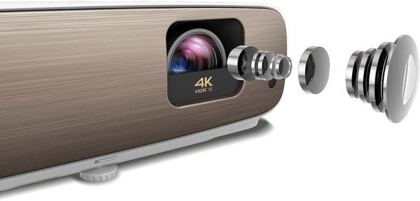 BenQ W2700 : système optique haute précision