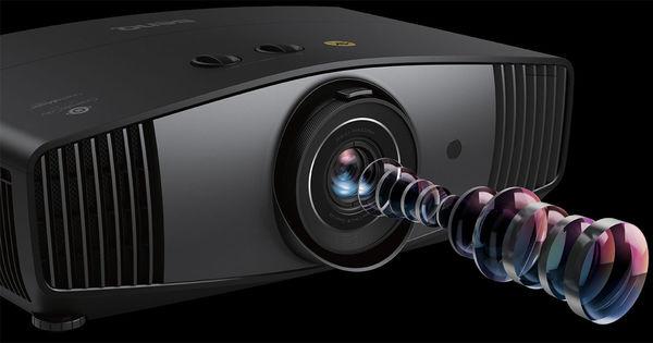 BenQ W5700 : système optique haute précision