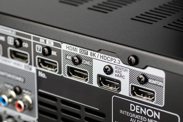 Denon AVC-X3700H : HDMI 2.1