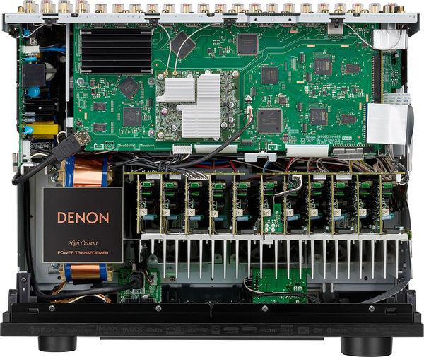 Denon AVC-X6700H : vue intérieure