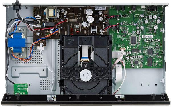Vur intérieure du lecteur CD Denon DCD-600NE