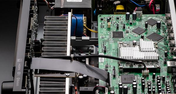 Denon DRA-800H : conception audiophile