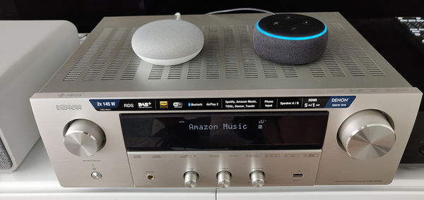 Denon DRA-800H : compatible Alexa et Google Assistant
