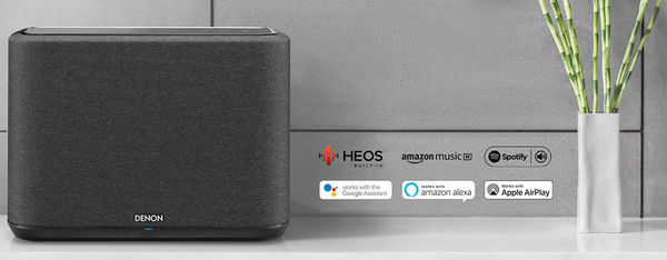 L'enceinte Denon Home 250 est compatible Alexa, Google Assistant et AirPlay