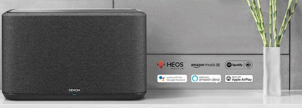 L'enceinte Denon Home 350 est compatible Alexa, Google Assistant et AirPlay