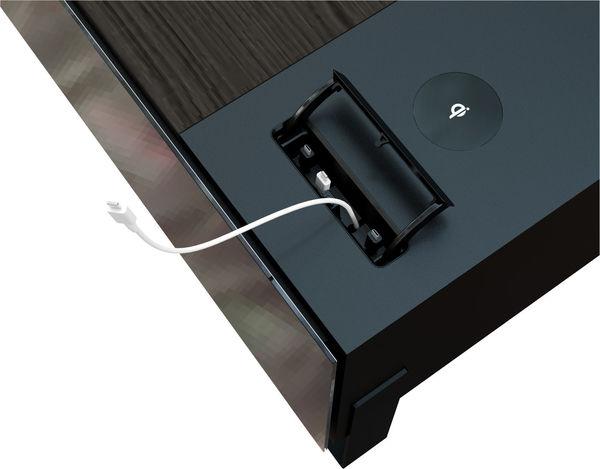 Ports USB et chargeur Qi