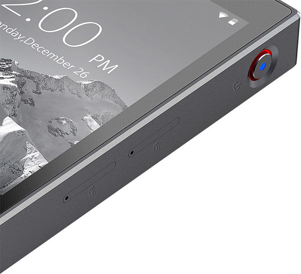 FiiO X5s-afspilleren har to micro-SD-hukommelseskortslot