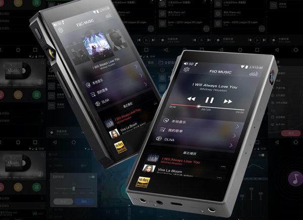 FiiO Music-afspilningsgrænseflade på FiiO X5s