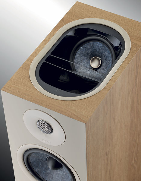Vue du haut-parleur Dolby Atmos de l'enceinte Focal Chora 826D