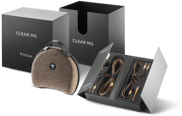 Casque hi-fi Focal Clear MG : accessoires