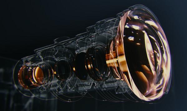 Le bloc optique du JVC DLA-NX9 garantit un excellent piqué d'image.