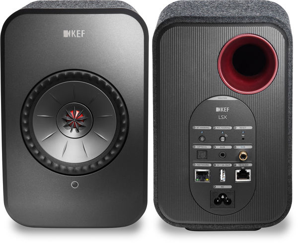Connectique enceinte KEF LSX Wireless
