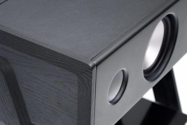 La Boîte Concept Cube Black Leather