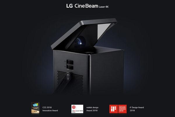 LG HU80KG : design récompensé