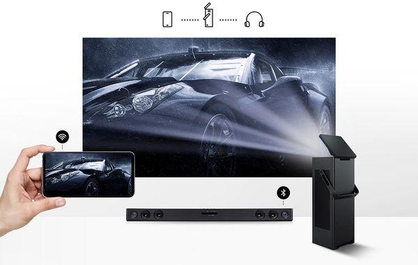 Vidéoprojecteur LG HU80KSW : WiFi, Miracast, Bluetooth
