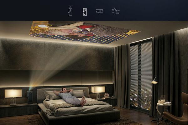 LG HU80KSW : projection plafond