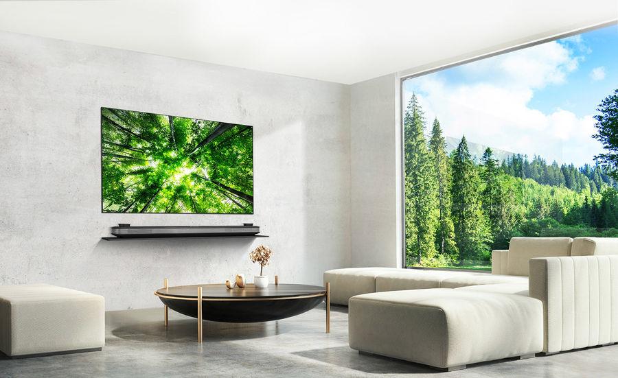 TV Lifestyle LG OLED W8