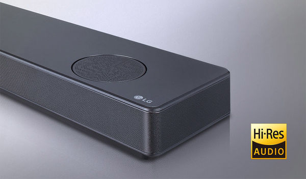 LG SL10YG : certifiée Hi-Res Audio