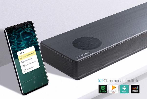 LG SL10YG : Chromecast intégré