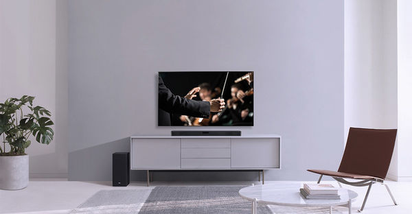 LG SL5Y : puissance totale 400 watts