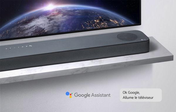 LG SL8YG : Google Assistant intégré