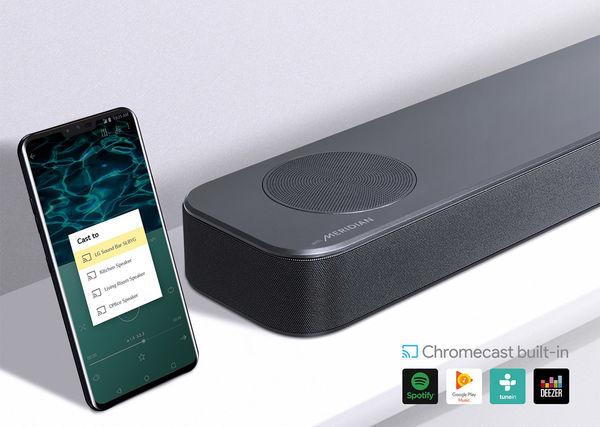 LG SL8YG : Chromecast intégré