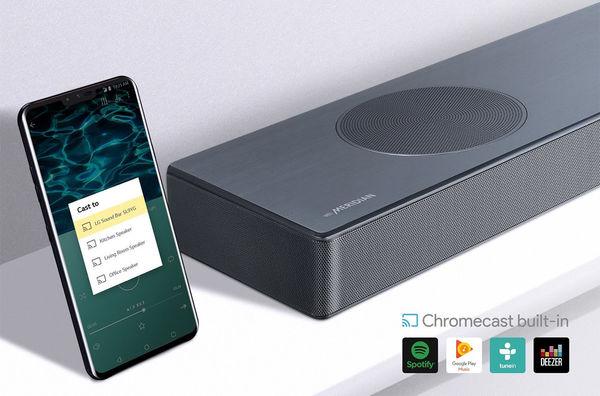 LG SL9YG : Chromecast intégré