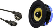 Lithe Audio Bluetooth Ceiling Speaker (pin protect) + Câble d'alimentation FR