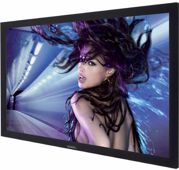 Lumene Movie Palace UHD 4K/8K Platinum : cadre recouvert de velours noir