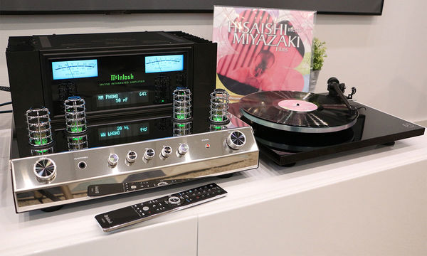 McIntosh MA352 et platine vinyle Rega Planar 3