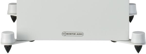 Monitor Audio Bronze 500 : pieds et pointes de découplage