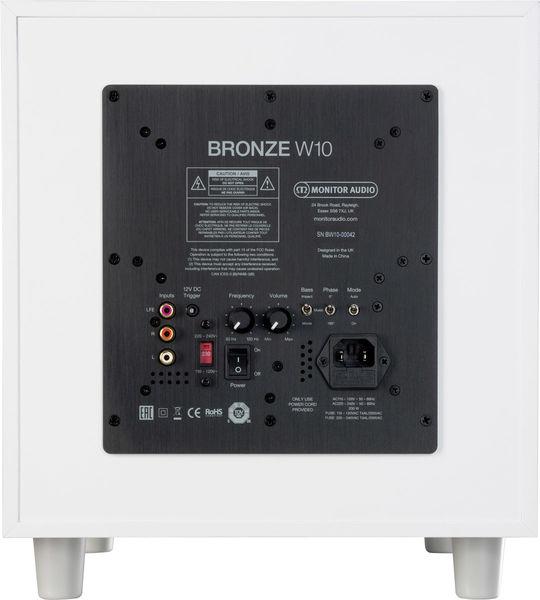 Monitor Audio Bronze W10 : face arrière