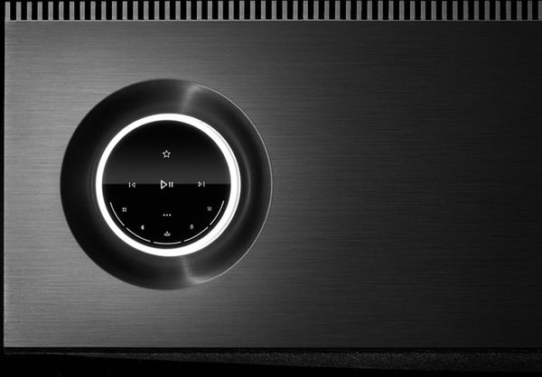 Naim Mu-so 2 : interface tactile