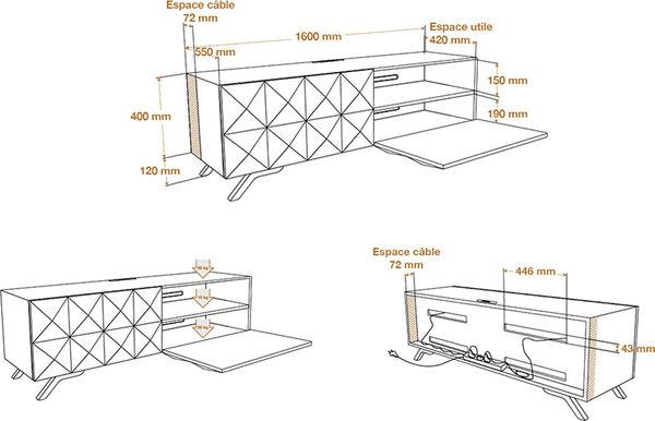 NorStone Facet dimensions