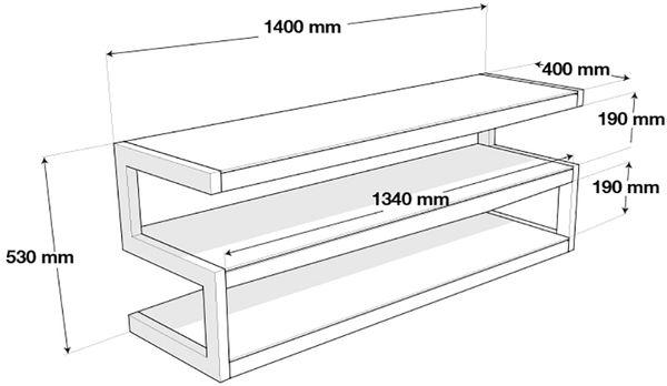 NorStone Esse 140 dimensions