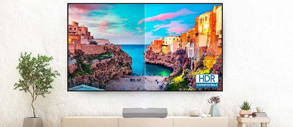 Le vidéoprojecteur Optoma CinemaX P2 est compatible HDR10.