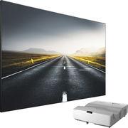 Optoma HD35UST + Lumene  Movie Palace UHD 4K Extra Bright 240C
