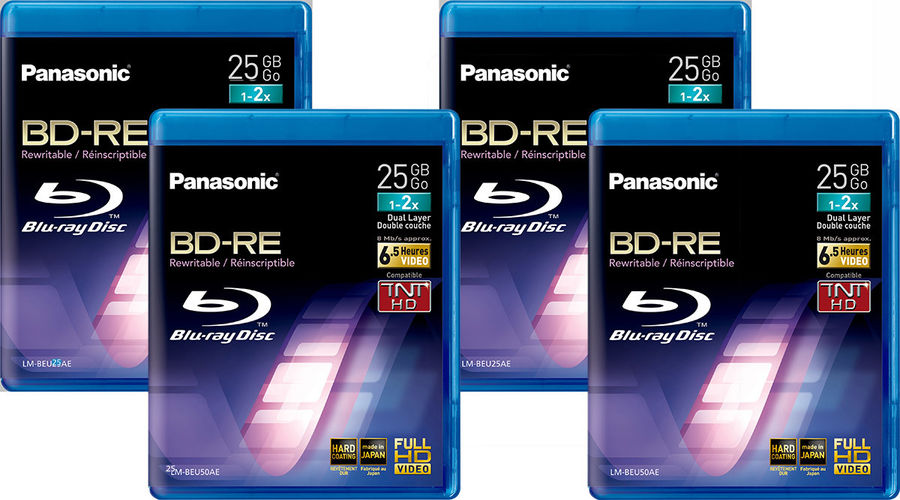 BD-RE 25 Go Panasonic