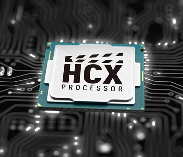 Panasonic TX-65HX810E : processeur HCX