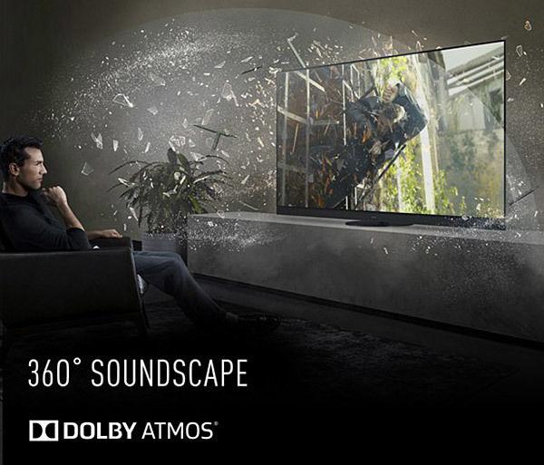 Panasonic TX-55HZ1500E : compatible Dolby Atmos
