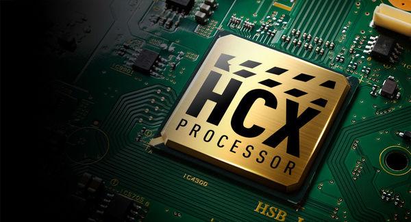 Panasonic TX-40GX820 : processeur HCX
