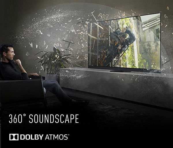 Panasonic TX-65HZ2000E : compatible Dolby Atmos