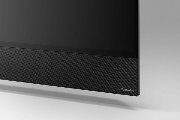 Panasonic TX-65HZ2000E  : détail barre de son technics