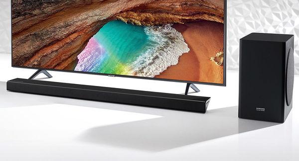 Samsung HW-Q60R : barre de son + caisson de basses sans fil