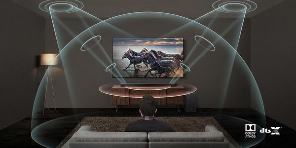 Samsung HW-Q70R  : Dolby Atmos & DTS:X