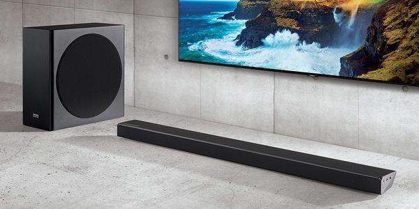 Samsung HW-Q70R : barre de son + caisson de basses sans fil